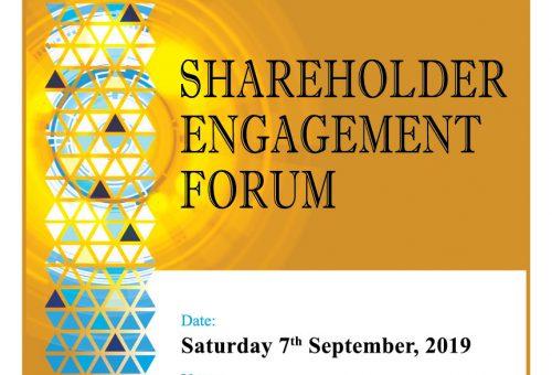 Shareholder Engagement Forum 2019